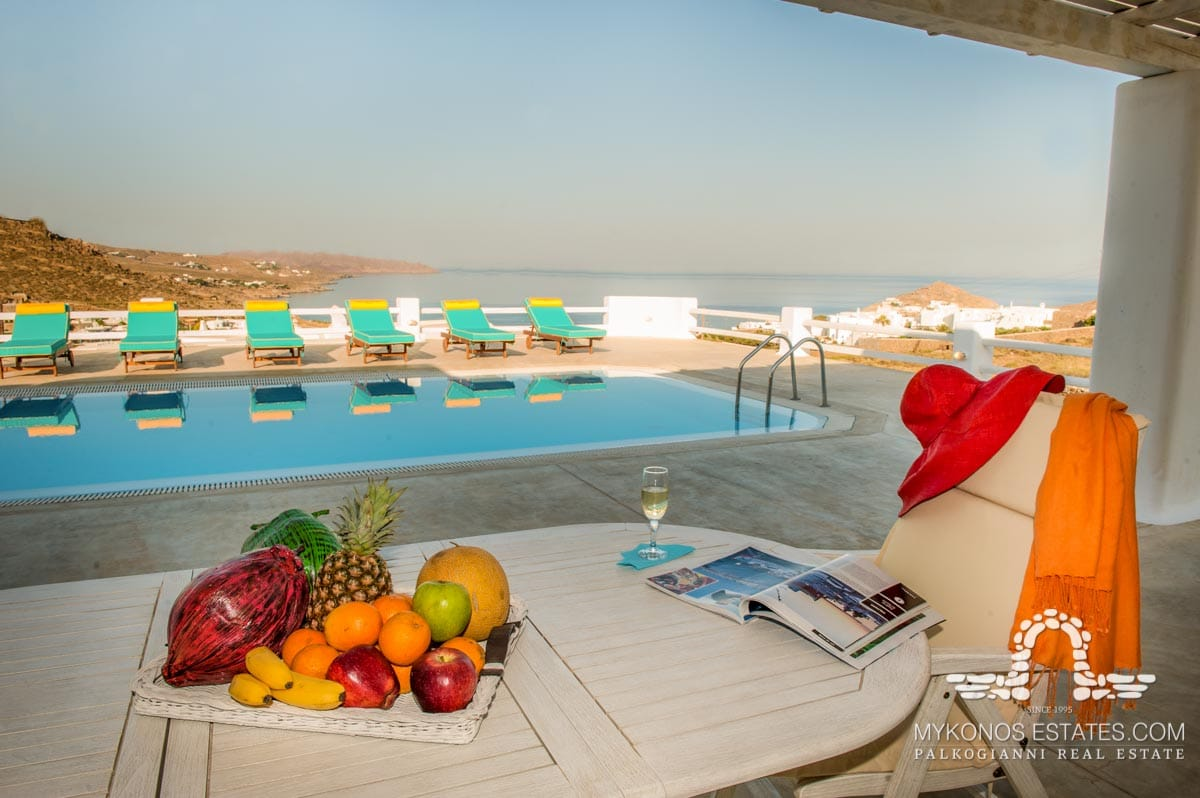 VIP services Photo of pool and view from dining area