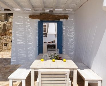 Mykonos Villa in the area of Fanari