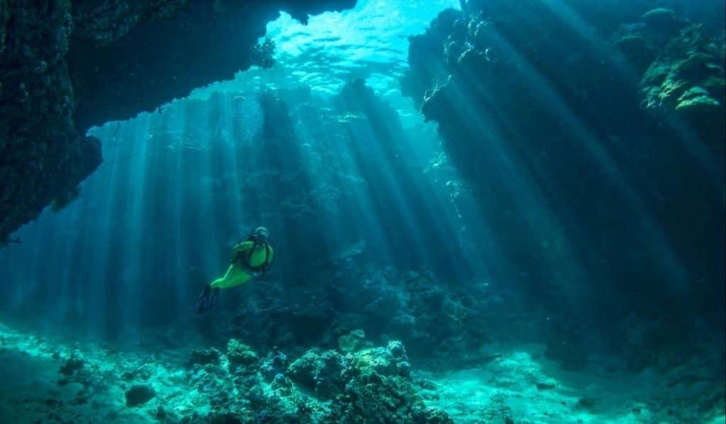 Cave diving Mykonos Estates