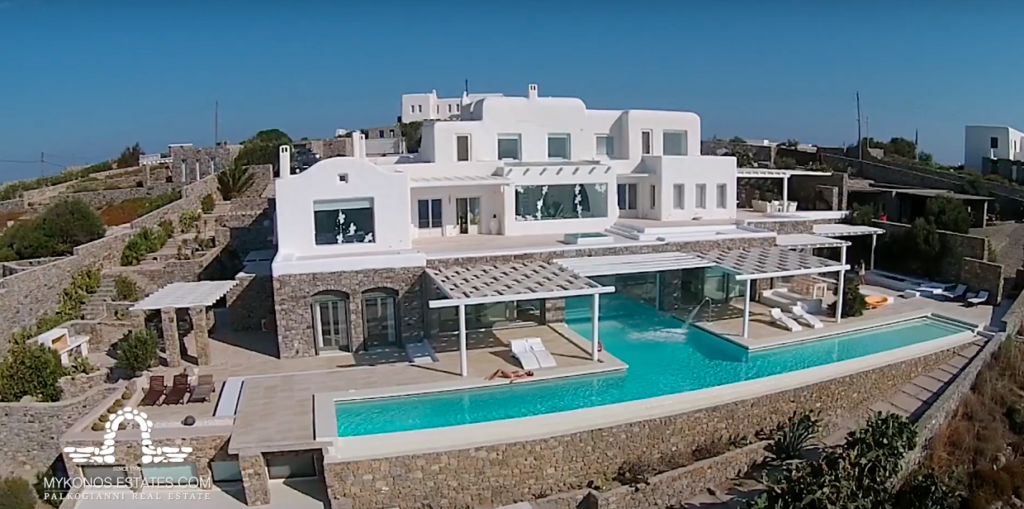 Luxury villa in Mykonos