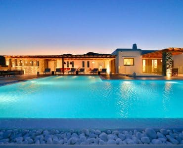 Mykonos Villa Galateia in Elia Mykonos by Mykonos Estate - Mykonos Real Estate