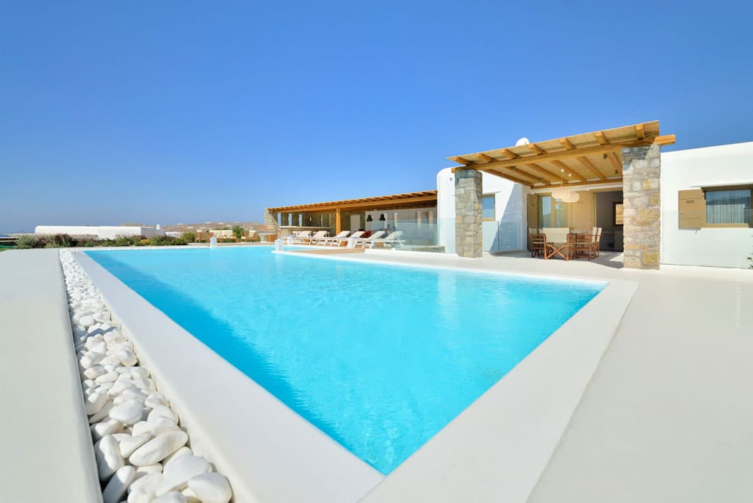 Mykonos Vilal Galateia in Elia Mykonos by Mykonos Estate - Mykonos Real Estate