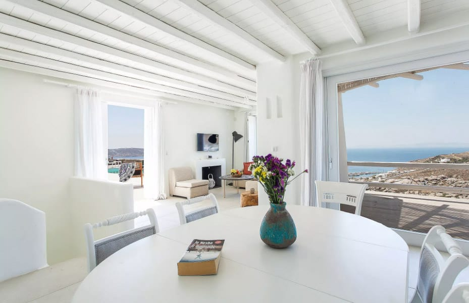 View from dining area in Casa Del Mar