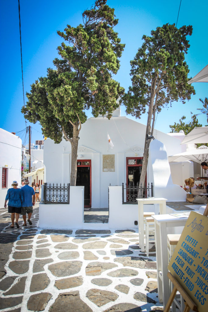 Agios Fanourios - Mykonos town