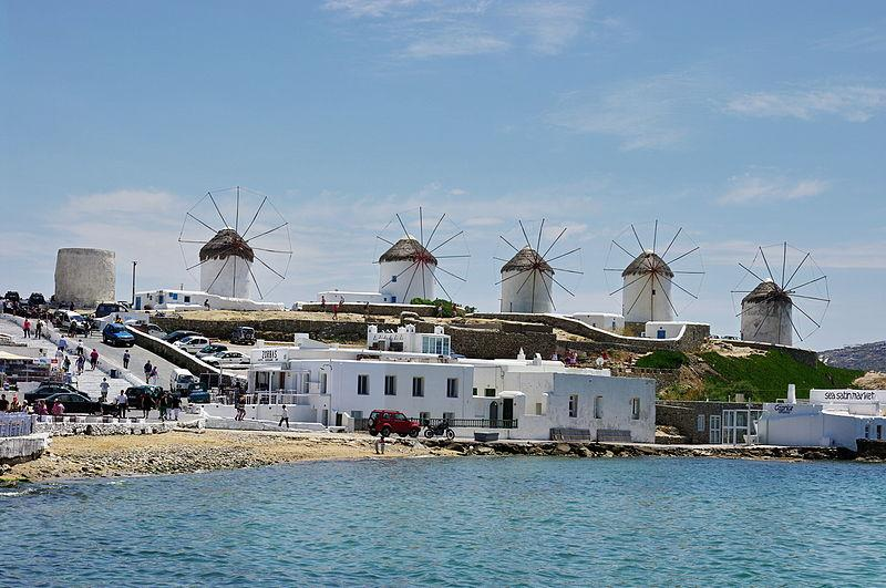 Mykonos Iconic Windmills